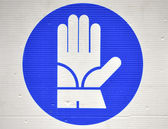 Safety signs — Foto de Stock