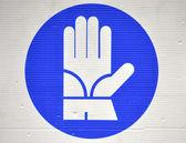 Znaki bezpieczeństwa — Zdjęcie stockowe