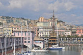 Harbour, Genoa, Italy — Stock Photo
