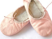 Ballet shoes — Stock Photo