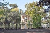 Villa borghese, rom — Stockfoto