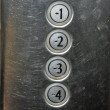 Stock Photo: Lift keypad