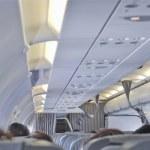 Plane interior — Stock Photo