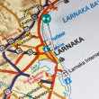Map of Larnaka — Foto de stock #6804195
