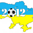 Ukraine Euro 2012 — Stock Photo