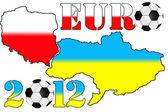 Ukraine Euro 2012 — Stock Photo