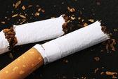 Broken Cigarette — Stock Photo