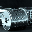 Grater for mincing machine — Stock Photo