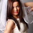 Stock Photo: Portrait of a bride