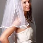 chica guapa en un vestido hermoso — Foto de Stock