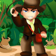 Royalty-Free Stock Photo: Indiana Jones