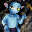 Avatar chibi — Stock Photo