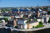 Postcard from Sweden — Stock Photo