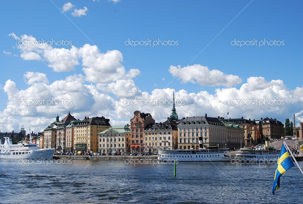 Classic view of Stockholm  — Stock Photo #6752245
