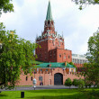 Troitskaya Tower of Moscow Kremlin — Stock Photo #6891387
