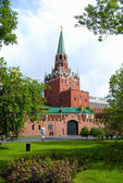 Troitskaya Tower of Moscow Kremlin — Stock Photo