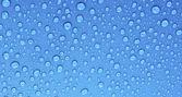 красивые голубые капли фон — Стоковое фото