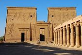 Philae temple — Stock Photo