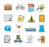 Travel icon set — Vecteur