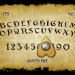 Ouija board - Stock Photo