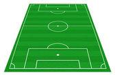 Football pitch — Stock Photo