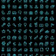 Simple icon set - Stock Vector