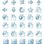 Web icon set — Stock Vector #6826680