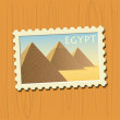 Egyptian Pyramids - Imagen vectorial
