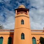 Le minaret de la mosquée d'Antsirabe — Stock Photo #7139423