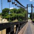 Pont supendu de Kamoro — Stock Photo