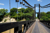 Pont supendu de Kamoro — Stock Photo