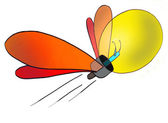 Logo of a light-bulb — Stock Photo