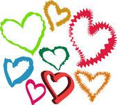 Cœur aimant — Vecteur