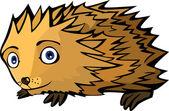 Little funny Hedgehog — Stock Vector