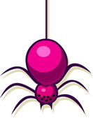A vector illustration of a spider. — Stock Vector