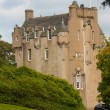 Crathes Castle in Autum — Stock Photo