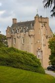 Crathes Castle in Autum — Stock Photo