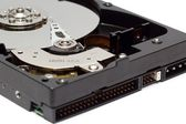 Close Up View of Hard Drive — Stock Photo