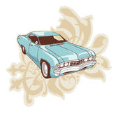 Chevrolet Impala Low-rider. — Stock Vector