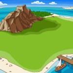 Island — Stock Vector #6831538