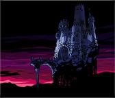 Dark Castle — Stock Vector