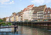 Strasbourg channel — Stock Photo