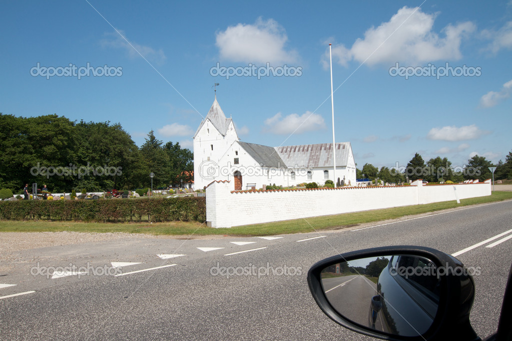Church in Denmark  Stock Photo #6819716