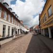 Ribe city Denmark - Stock Photo