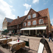Ribe city, Denmark - Stock Photo