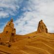 Sand statue festival — Stock Photo #6820922