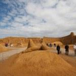 Sand statue festival — Stock Photo #6821104