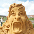 Royalty-Free Stock Photo: Sand sculptures festival