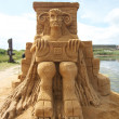 Sand sculptures festival — Stock Photo #6821590