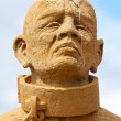 Sand sculpture festival — Stock Photo